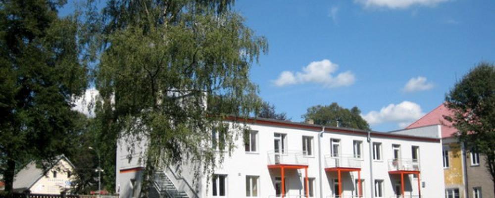 Pavilon sociálních lůžek - Pohled z parku