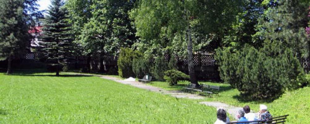 Park - Letní pohled