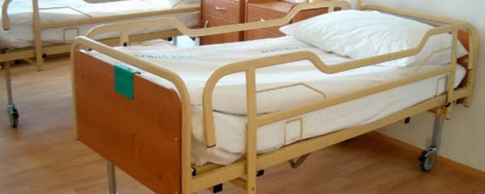 Otevření prvních dvou stanic s lůžky následné péče, rok 2005 - Polohovací lůžka v nových prostorách lůžkové části léčebny.