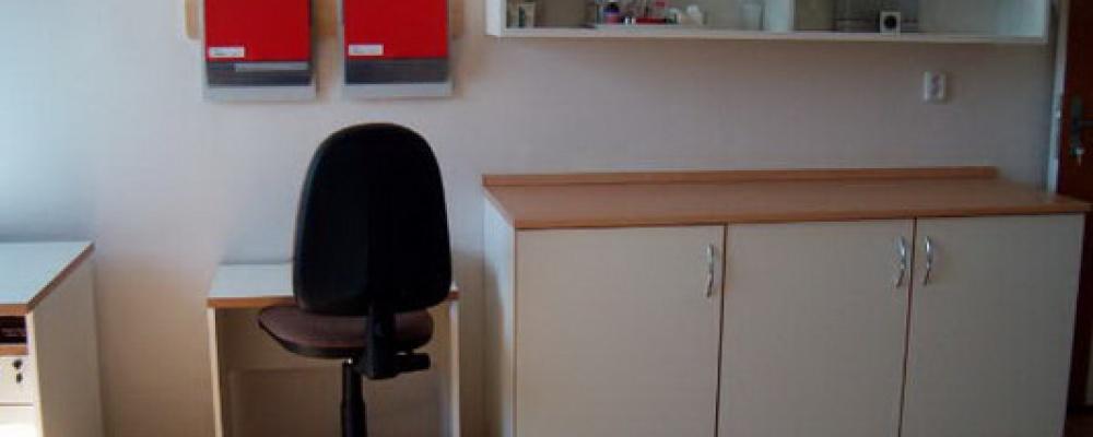 Otevření prvních dvou stanic s lůžky následné péče, rok 2005 - Vybavení pracoviště sester.