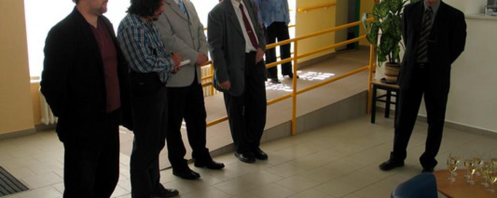 Otevření pavilonu sociálních lůžek v roce 2008 - Úvodní řeč jednatele společnosti.
