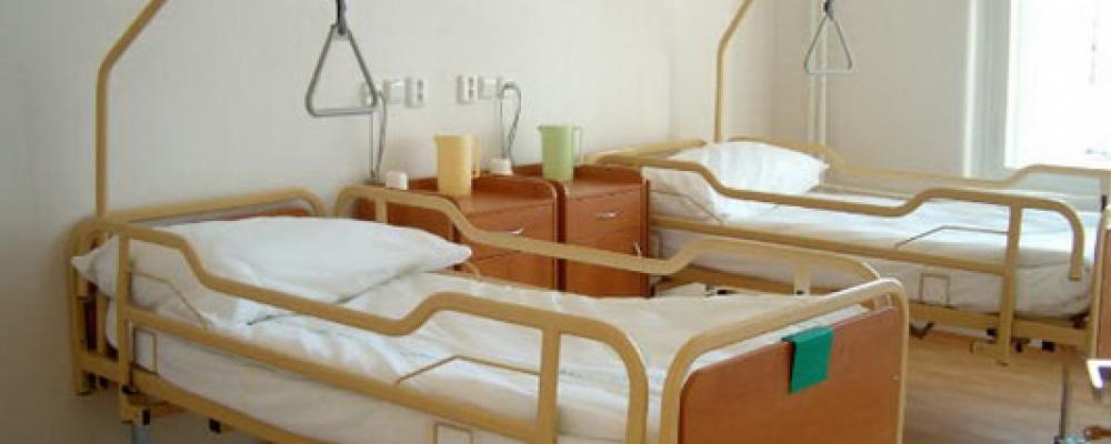Zdravotní lůžka následné péče - Pokoj s polohovatelnými lůžky.